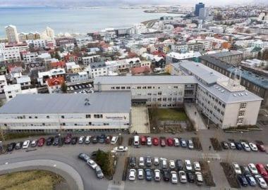 Hús Tækniskólans á Skólavörðuholti.