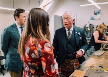 Telma Dögg Björnsdóttir - starfsnám Campbell's x HRH Prince Charles Visit